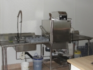 Commercial Dishwashing Station