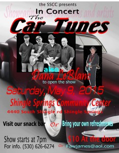The Car Tunes and Dana LeBlanc05092015