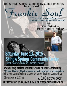 Frankie Soul with No Control06132015
