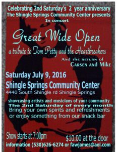 Great Wide Open Tom Petty Tribute Band 07092016